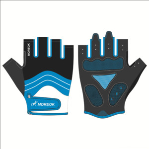 Self-made motorcycle cycling gloves bicycle Motorcycle bicycle fitness outdoor sports machinery work long half short finger gloves customize