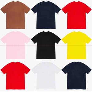HOT! UNHS 19FW Bandan BOGO Tee 8COLORS Street Skateboard Men women T-SHIRT Fashion Short Sleeved Casual Outdoor Printed T-shirts SDF212