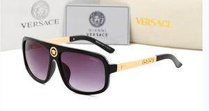 Gafas de sol de metal redondas Lente de cristal de destello dorado de diseñador para gafas de sol de espejo para mujer para hombre Gafas de sol redondas unisex envío gratis9913