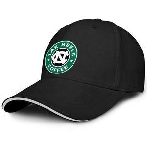 Unisex North Carolina Tar Heels Starbucks Yeşil Moda Beyzbol Sandviç Şapka Spor Sevimli Kamyon şoförü Cap basketbol ABD bayrağı logosu Yeni