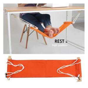Masa Ayakları Hamak Ayak Sandalye Bakım Aracı Ayak Hamak Açık istirahat Cot Taşınabilir Ofis Ayak Hamak Mini Ayaklar istirahat Y200327