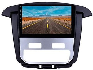 9 inch Android 9.0 Car GPS Navi Stereo for 2012-2014 Toyota innova Auto A C with AUX Bluetooth Support Mink Link OBD II