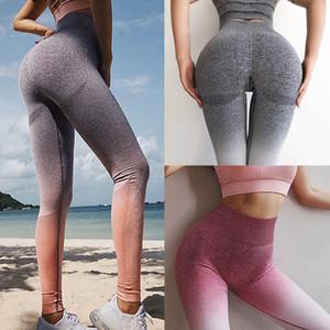 Seamless Yoga Pants Women High Waist Push Up Workout Sport Leggings Fitness Women Gym Tights Stretch Running Pants