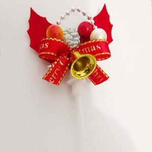 Cena criativa da grinalda do Natal Decoração Plugin 3D Bolo Decorar Com o Natal Atmosfera da árvore de Natal Bolo Plugin DHL F6E