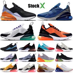 Mens Triple Negro Zapatos funcionamiento futuro 270OG totales anaranjado claro Bone caliente ponche CNY 2019 Be True diseñador zapatillas des Chaussures