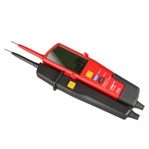 UNI-T UT18D dijital voltmetre 690 V AC DC Gerilim Metre metal Dedektörü Su Geçirmez Testi Kalem Tam LCD Ekran RCD Testi Otomatik Aralığı
