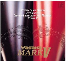 Freies Verschiffen YASAKA MARK V Tischtennis-Gummi / PingPong Rubbers Pickel in Für Tischtennis-Blatt / Racket