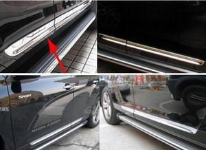 Hochwertige Edelstahl-4pcs Autotür Körper Schutzstreifen, Dekoration bar für Toyota Highlander 2007-2011