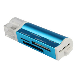 Все в 1 USB 2.0 Multi Memory Card Reader адаптер разъем для Micro SD MMC SDHC TF M2 Memory Stick MS Duo RS-MMC