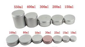 5ml 10ml 15ml 20ml 25ml 30ml 50ml 60ml 150ml aluminium Lip Gloss pot de crème contenant Contenant cosmétique