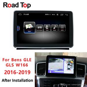 La unidad principal de Android 8 Para mostrar el vehículo 4G RAM 64G para Mercedes Benz W166 de coches GLE GLS Radio Multimedia Monitor de navegación GPS Bluetooth