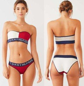 donne Lettera Designer Bikini 2 pezzi set Swimwear per le donne sexy Dresss-XL costume da bagno Body Beach Estate traino pezzo costume da bagno sexy feier222