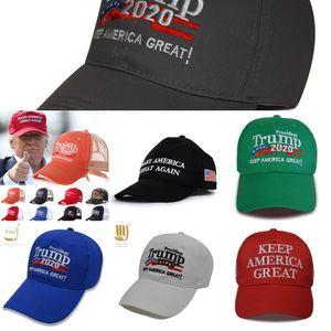 ntKow Trump Casquettes de base-ball brodé, Foulards Gants 2020 Keep America Great Baseball Cap 2020 Chapeau républicain Chapeau Casquettes Chapeau Trump Pres