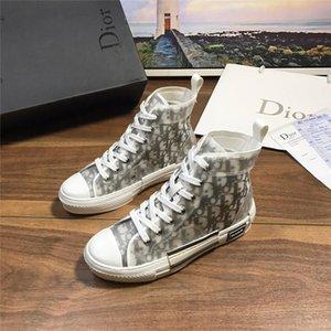 Zapatos Dior Homme oblicua X kaws por Kim Jones Hombres Mujeres Nike Air Jordan 1 de lujo botas de baloncesto de las zapatillas de deporte del top del alto monopatín
