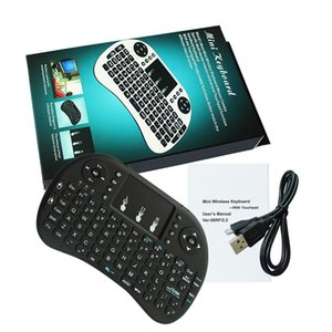 i8 Keyboard Wireless fly air Backlight Air Mouse Remote With Touchpad Handheld For TV BOX X96 TX3 mini