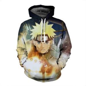 Men Women Printed Anime Naruto Akatsuki Hoodies Cosplay Streetwear Sasuke Akatsuki Tops Hoodies Sweatshirt Zipper Coat Outfit