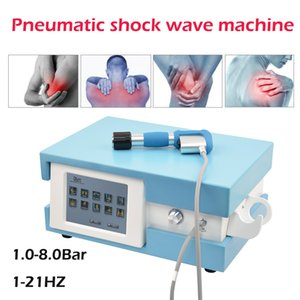 Pneumatic shock wave therapy equipment ED Extracorporeal Therapy shockwave machine knee back pain relief cellulites removal