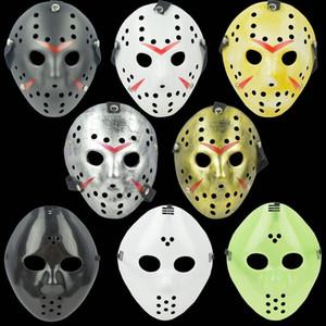 Архаический Jason Mask анфас Античная убийца Маска Джейсона против пятницу 13-Prop Horror Хоккей Хэллоуин костюм косплей маски в наличии