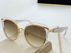 1095 Sonnenbrille populäre Art und Weise Damen Designer spezielle Art UV-Schutz-Objektiv Full Frame Top-Qualität kommen mit Fall und Handarbeit