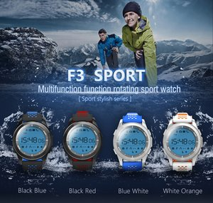 Hot F3 Smart Watch Bracelet IP68 Waterproof Hiking Sports Smartwatch Fitness Tracker Wearable Devices For Android iOS free shipping