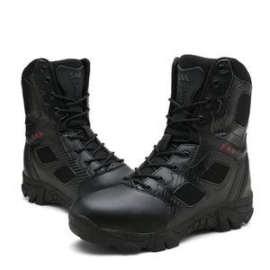 Männer Hochwertige Militärische Lederstiefel Special Force Tactical Desert Combat Herrenstiefel Outdoor Schuhe Stiefeletten MMN