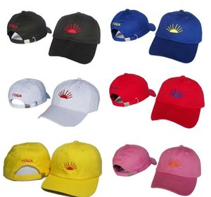 Gosha Caps 7 colores bordado casquillo de la bola de algodón ajustable sombreros para hombres mujeres pareja accesorios envío gratis