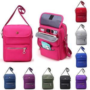 Kadın renkli Messenger çanta Messenger çanta bayanlar naylon su geçirmez bir omuz tatil seyahat saklama çantası çanta