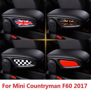 Union Jack автомобиль подлокотник боковая наклейка для Mini Cooper Countryman F60 2017 стайлинг украшения интерьера Аксессуары