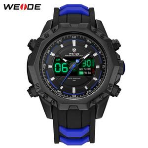 WEIDE Militär Quarz-Digital-Auto Date-Mann-Sport-Uhr-Taktgeber-Silikon-Bügel-Armbanduhr Relogio Masculino Montres Hommes Relojes