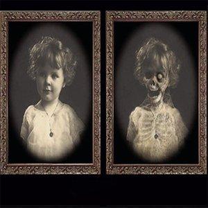 Santo Marco de imagen 3D decoración de Halloween Horror Calendarios Bachelorette Party decoración de Halloween partido del tema de los apoyos
