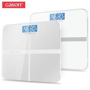 GASON A1 180kg 50g Floor Bathroom Scale For Body Weigh Smart Household Electronic Digital Heavy Weigh LCD Display Precision Y200106