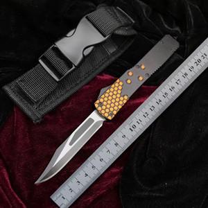 BENCHMADE Honeycomb BM coltello automatico Tactics MT caccia esterna Lama piegante di campeggio 440C EDC Micro Pocket Auto lama di sopravvivenza BM 3300
