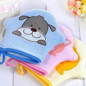 Imixlot 1 Pc Sponge Children Luvas De Banho Corpo Lavado Puff Mesh Net Ball Casa De Banho Dia-A-Dia Utilização Material De Limpeza