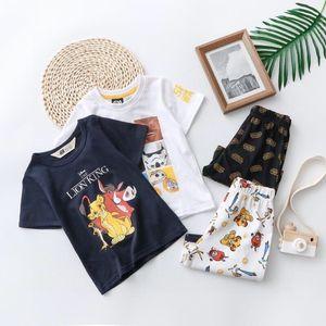 2020 top quality kids clothing sets kids clothes boy girls t shirt shorts pants trousers 2pcs sets 345-733 *3906-345*2e593