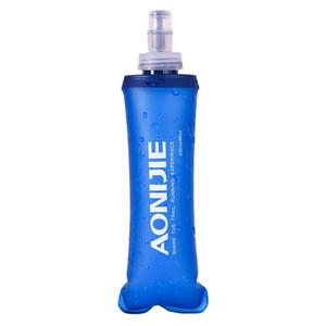 Neue AONIJIE Outdoor Camping Wandern Schöne Weiche Flasche Sport Radfahren Fließendem Wasser Trinkflasche 250/500 ML