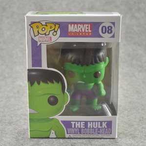 Anime Hand zu tun funko Avengers Hulk # 08 Spielzeugmodell Pop