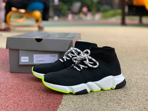 2019 holgazanes de deportes de la manera de la marca hombres mujeres calzado para correr para hombre corredor de velocidad bottoms verdes talones zapatillas de deporte los nuevos entrenadores de baloncesto de llegada