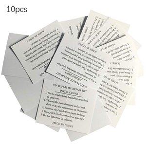10pcs TPU impermeable transparente tienda al aire libre de la chaqueta de reparación de la cinta adhesiva de nylon Parche Auto etiqueta engomada del paño Parches Accesorios