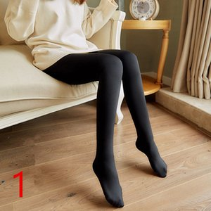 Women 80D Warm Tights Microfiber Thermal Fleece Lined Stockings Pantyhose Women Thick Warm Velvet Pantyhose For Winter