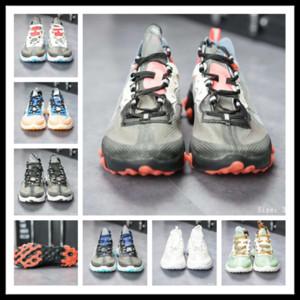 FBT dayanıklı yürüyüş ayakkabı 2019 W-Halk React elemanı 87 sneaker mükemmel erkekler ayakkabı kutusu ile Otantik Y3factory Ücretsiz AB 36-45