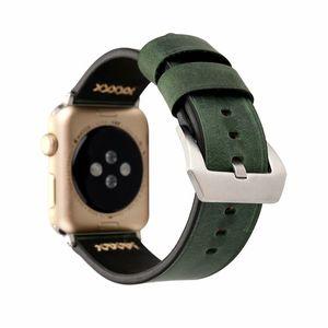 Для iwatch Ленточнопильные Размеры 38мм 42мм ретро натуральная кожа ремешок ремешок для Apple часы группы браслет браслет ремешок для женщин мужчин