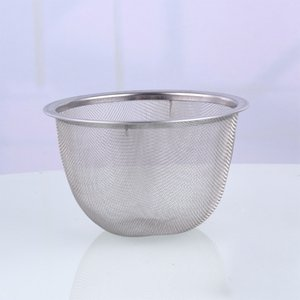 7.2cm Diamter En acier inoxydable en métal métal Infuser Réutilisable Filtre d'épices à thé pour Théière Outils de cuisine