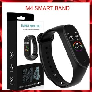M4 intelligent Band Fitness Tracker Montre bracelet Sport Montre de fréquence cardiaque intelligent 0,96 pouces Smartband Health Monitor Wristband
