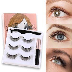 1set 3D Natural False Eyelashes Dramatic Volume Fake Lashes Makeup Eyelash For Beauty Makeup Tool Extension Mink Eyelashes