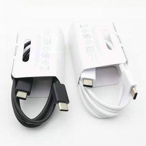 100% originale Nota 10 USB tipo C a TypeC Cavo per Samsung Note 10 Supporto PD QC3.0 di ricarica rapida per TypeC Devices