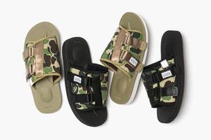 Nuovo A Bathing x Suicoke Mastermind GIAPPONE Skull X Beach pantofole Verde oliva MMJ uomo e gli amanti delle donne dei sandali di modo casuale 36-45