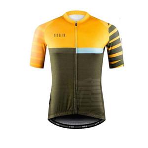 2020 Radfahren Jersey GOBIK Team Männer Kurzarm mtb Bike shirt Sommer Quick dry racing Kleidung Fahrrad Sport uniform Y20042103