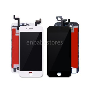 Lcd Display For 10pcs Iphone 6 6p 6s 6sp 4.7 Lcd Screen With Digitizer Replacement Quality 3d Touch White Black