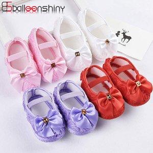 Balleenshiny 2020 nuovi pattini della neonata di modo estate grande arco della principessa First Walker Neonato pavimento Bambini calzini antiscivolo