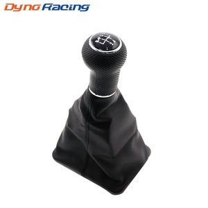 Автомобилей Ручка переключения передач Black Caps 5 Speed Gear Shift, Knobs загрузки для Volkswagen Jetta с черной рамкой TT100237